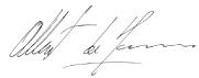 Signature du Prince