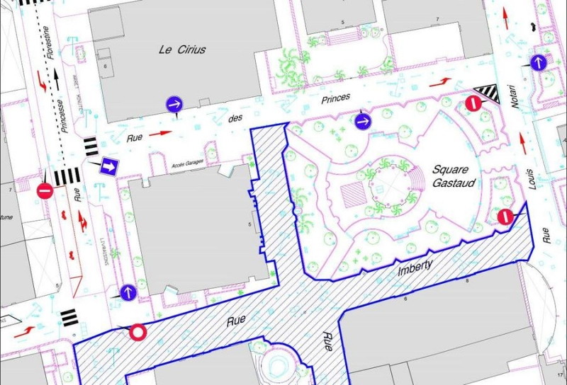 Pedestrianisation of the Rue Imberty