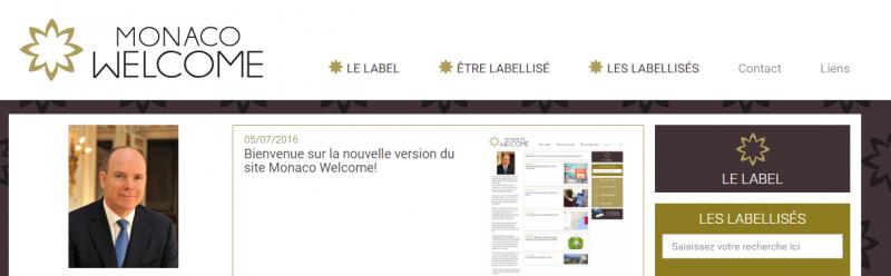 Bienvenue sur la nouvelle version du site Monaco Welcome!