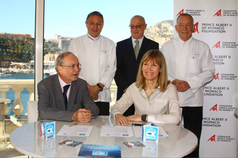 L'Hirondelle restaurant at Thermes Marins Monte-Carlo achieves Mister Goodfish accreditation