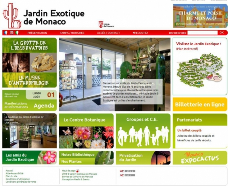 Le Jardin Exotique lance sa billeterie en ligne