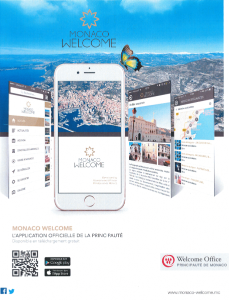 Le Gouvernement Princier lance l'application Monaco Welcome