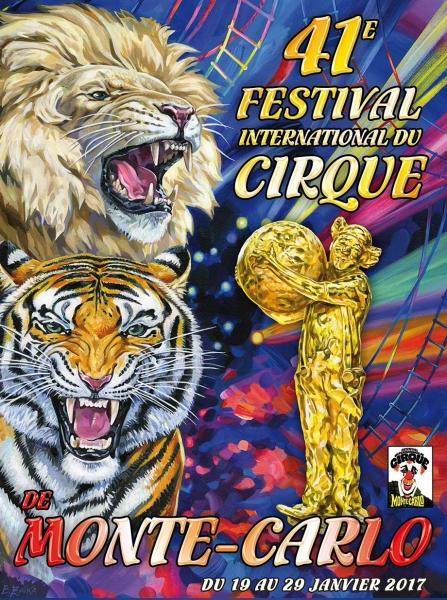 Festival International du Cirque de Monte-Carlo : le programme de la 41ème édition !