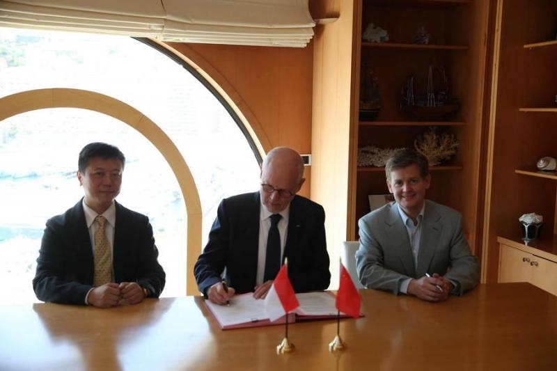 Signature of a Memorandum of Understanding between Monaco and Alipay