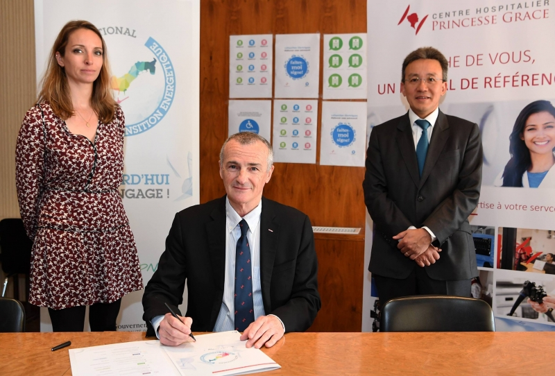 The Princess Grace Hospital Makes a Commitment to Energy Transition