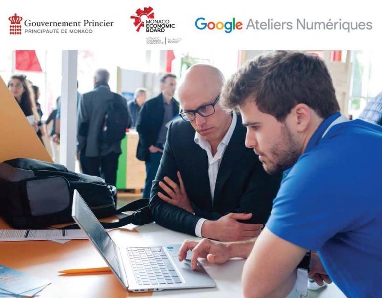 Google Ateliers Numériques - Les 17, 18 et 19 septembre au Lycée Technique et Hôtelier de Monaco