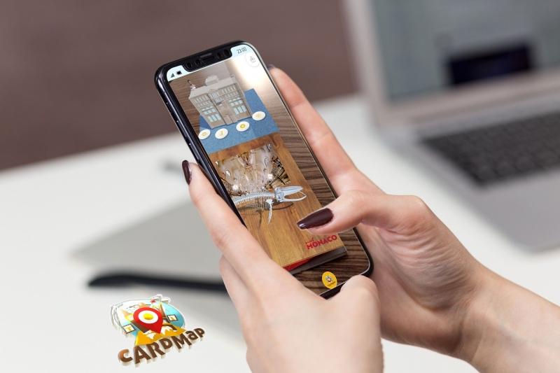 La Principauté de Monaco se visite désormais en réalité augmentée grâce à l'application CardMap