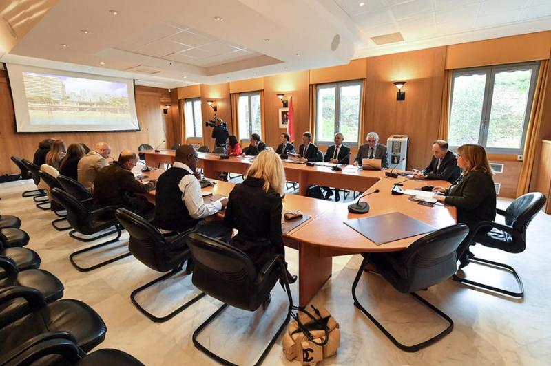 Présentation du projet de réaménagement du site balnéaire du Larvotto