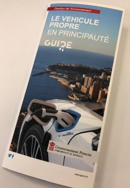 Lancement du guide du véhicule propre en Principauté