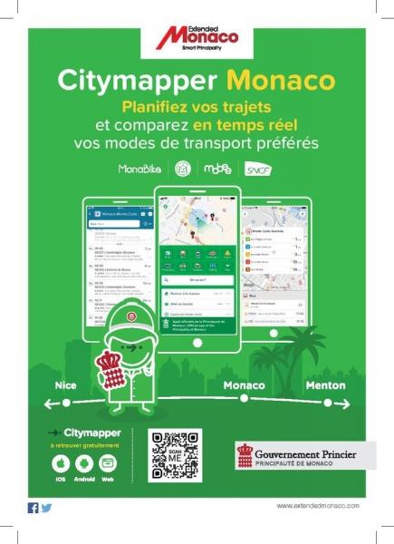 Déplacez-vous malin à Monaco avec CityMapper !